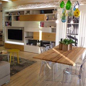 Tavoli da pranzo moderni arredamento online abitastore for Arredamento tavoli moderni